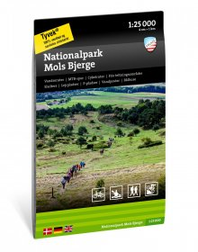 Nationalpark Mols bjerge 1:25.000